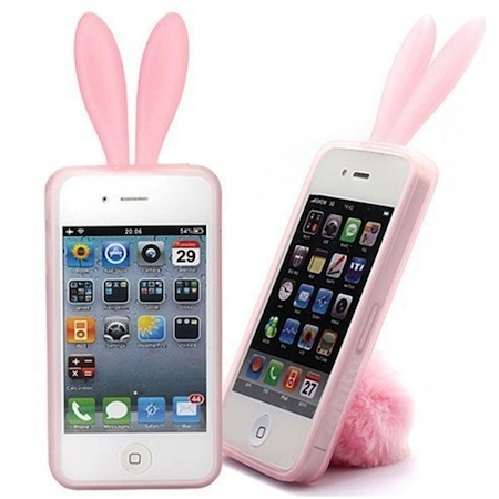 coque lapin iphone 4